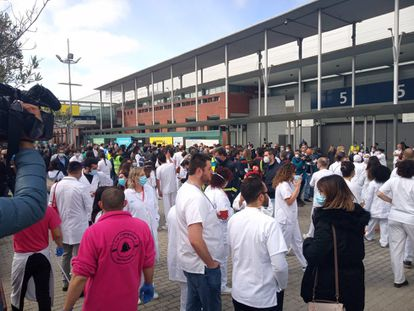 Acto de clausura del hospital de Ifema, en Madrid (España) a 1 de abril de 2020.  EUROPA PRESS 01/05/2020