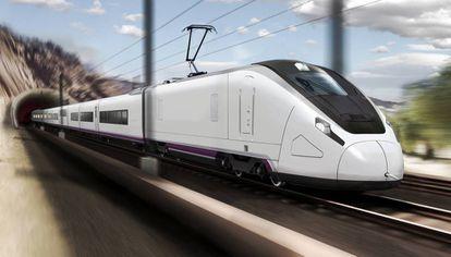 Imagen del Talgo Avril, el nuevo modelo que la compañía lanzará en 2021.
