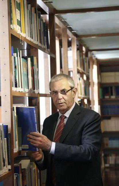 El expresidente de la Xunta, Emilio Pérez Touriño