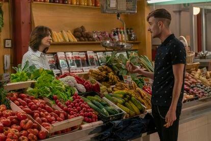 Una imagen de la serie 'Mercado Central'.