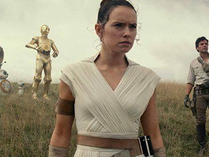 Secuencia de 'Star Wars: el ascenso de Skywalker'.