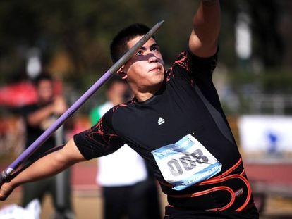 El atleta argentino Braian Toledo, en una foto de archivo.