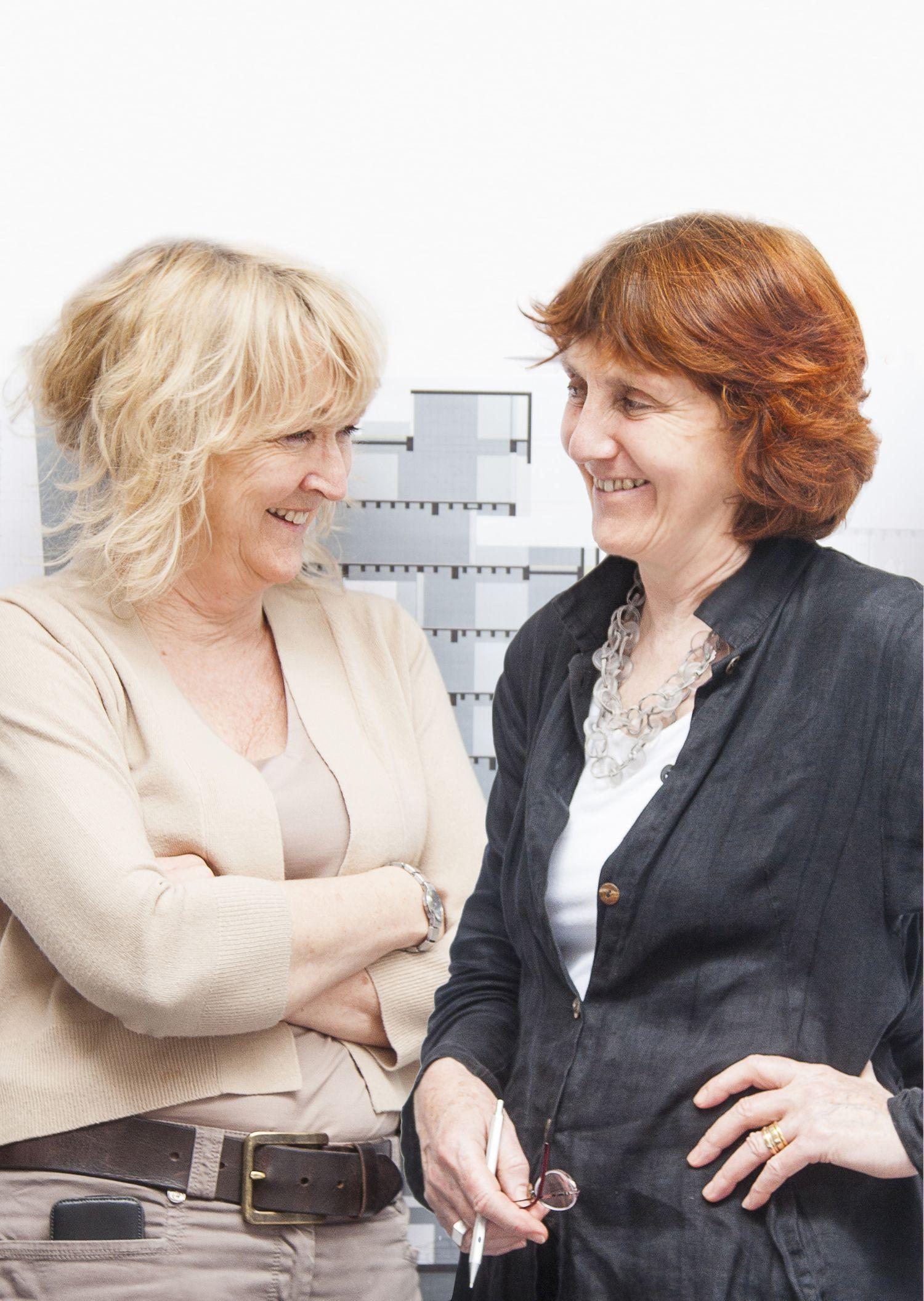 Yvonne Farrell y Shelley McNamara