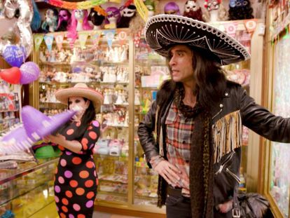 Alaska y Mario en la quinta temporada de su 'reality show'.