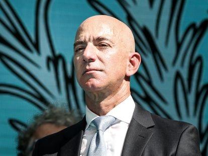 El consejero delegado de Amazon, Jeff Bezos, en un acto en Estambul en 2019.