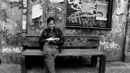 Byung-Chul Han en un fotograma del documental de Isabella Gresser 'La sociedad del cansancio: Byung-Chul Han en Seúl y Berlín', de 2015.