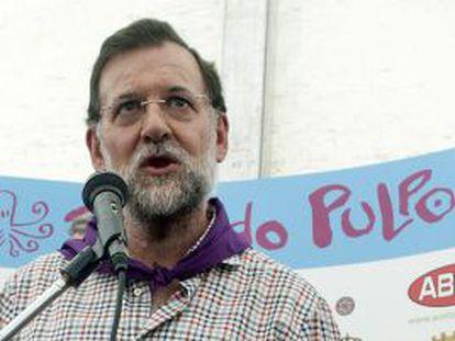 El presidente del Partido Popular, Mariano Rajoy.