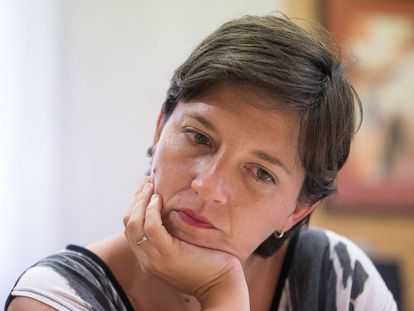 Laia Ortiz, a medidados de mandato en el Ayuntamiento de Barcelona.