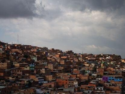 Vista de las viviendas de Ciudad Bolívar.