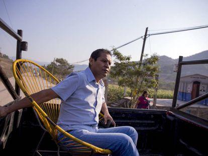 Antonio Hernández, candidato del PRD a la alcaldía de Chilapa.