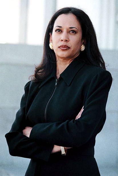 Kamala Harris como ayudante del fiscal del distrito de Alameda (Oakland), en 1997.