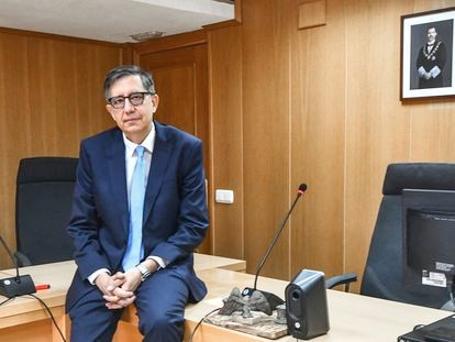 El fiscal de Menores de Ceuta, José Luis Puerta, el jueves.