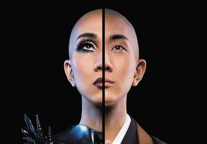 El monje y machillador Kodo Nishimura en su perfil de Facebook.