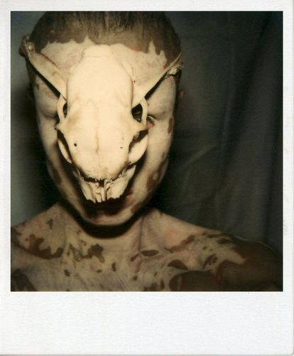 'Untitled (Self with Skull)' (1979).