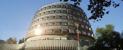 Sede del Tribunal Constitucional, en Madrid.