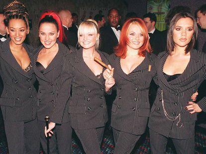 Las Spice Girl en 1997.