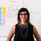 Isabel Inés Casasnova, conocida como Ludita. mención especial en los Premios de Innovación y Diseño. Cofundadora de 'La nave nodriza' estudio en el barrio de Malasaña de  Madrid donde están hechas las fotos. Junio 2021
