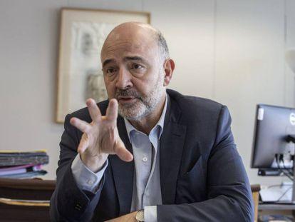 El comisario de Asuntos Económicos, Pierre Moscovici.