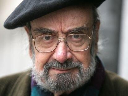 El dramaturgo  Alfonso Sastre, fotografiado en Madrid en 2007.