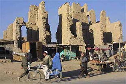 Una imagen reciente de las calles de Kabul.