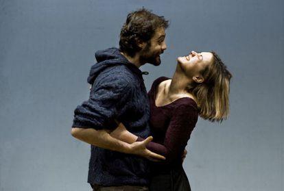 Àngel Ros i Ana Ríos, protagonistes de l'obra de Bolaño.