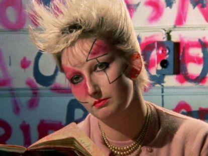 Fotograma del documental 'Jubilee' de Derek Jarman.