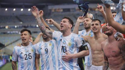 La Argentina de Messi gana la Copa América en Maracaná | Copa América de Fútbol 2021 | EL PAÍS