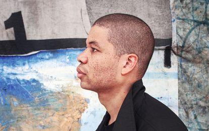 El artista colombiano Óscar Murillo.