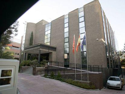 La Cámara de Cuentas de Madrid.