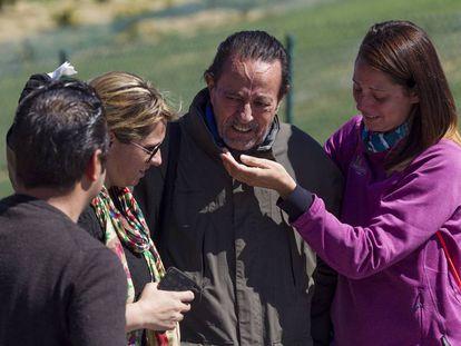 Julián Muñoz abandona la prisión de Alhaurín de la Torre el 1 de abril de 2016.