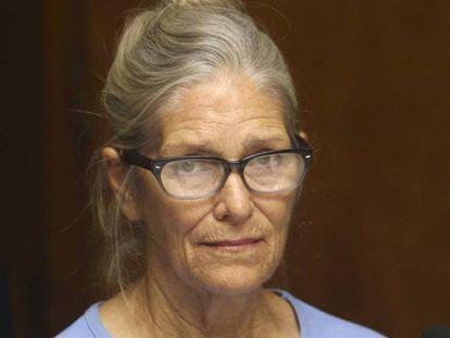 Leslie van Houten, en la audiencia de la condicional el pasado 6 de septiembre.