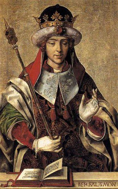 A Salomó se li atribuí el Cantíssim.