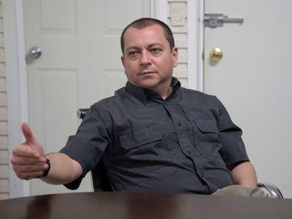 Jorge Fernando Garza Morales, comisario de la Policía de Nuevo León, en junio del 2021.