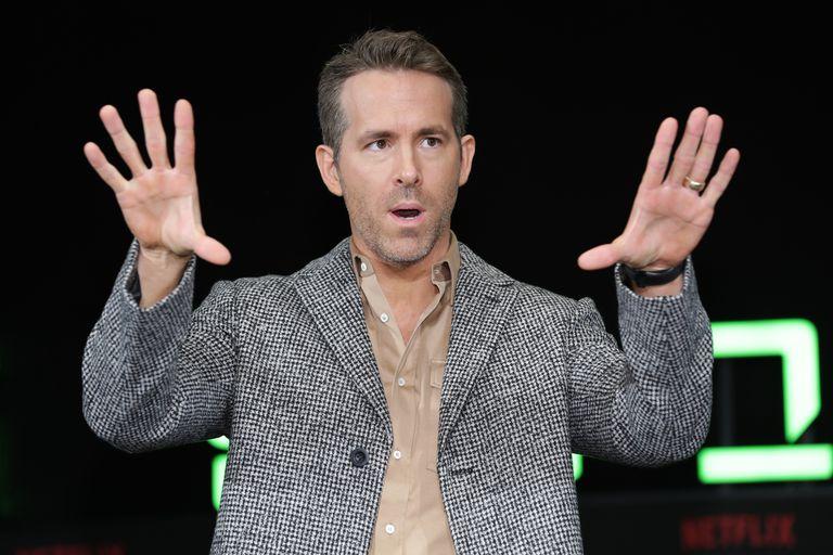 Ryan Reynolds durante una conferencia de prensa en Seúl en diciembre de 2019.