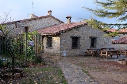 Los Diezmos, el bar de Jabaloyas (Teruel), sigue cerrado desde finales de agosto.