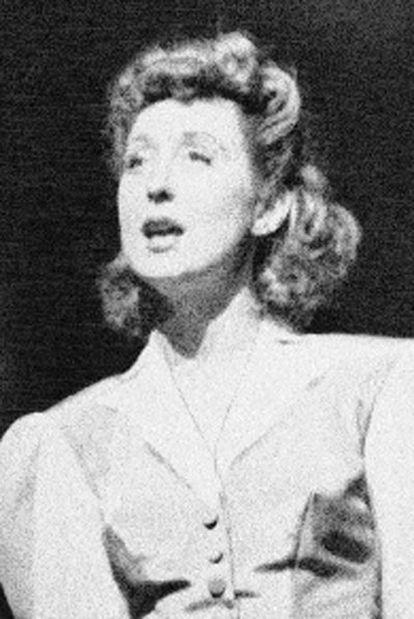 Betty Garrett, en 1943.