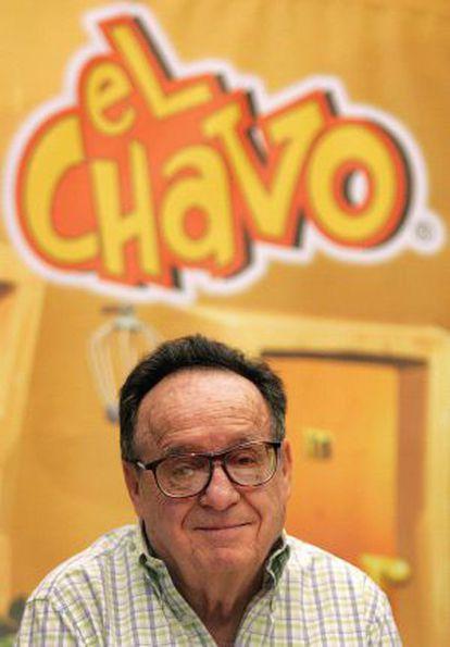 El actor del 'Chavo del Ocho', Roberto Gómez Bolaños.