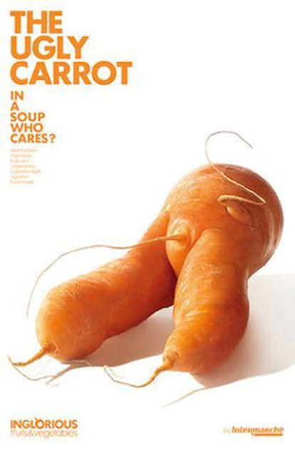La zanahoria fea: en una sopa, ¿a quién le importa?