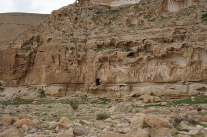La cueva de Nahal Hemar en Israel.
