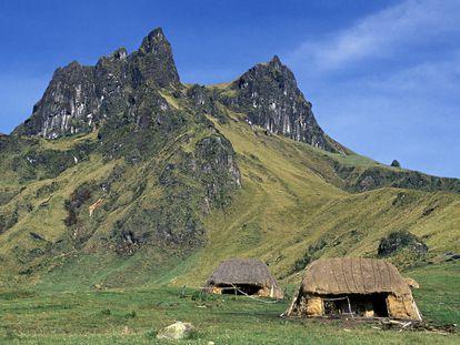 Vistas del parque Nacional Sangay, en Ecuador.