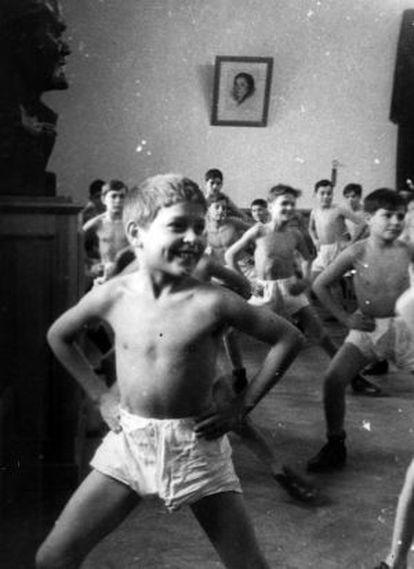 Imagen de los 'niños de la guerra' de Rusia, facilitada por  el Archivo de la Guerra Civil y el Exilio.