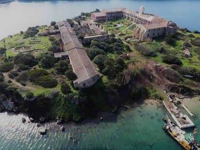 Panorámica de la Fundación Hospital de l'Illa del Rei. A la izquierda, el edificio que será sede de la galería.