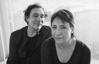 El director Agustí de Villaronga y la actriz Blanca Portillo.