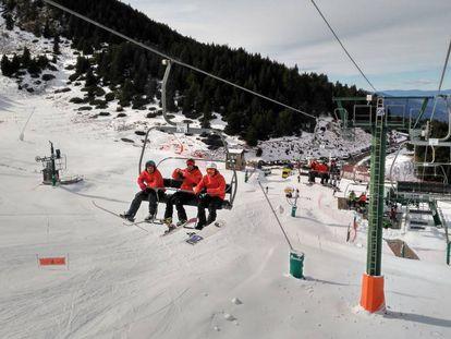 Estación de esquí de La Masella.