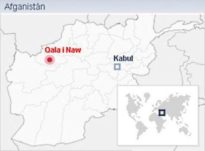 Qala i Naw, la provincia afgana donde están desplegadas Tropas españolas pertenecientes al Grupo Táctico de Apoyo a las Elecciones.