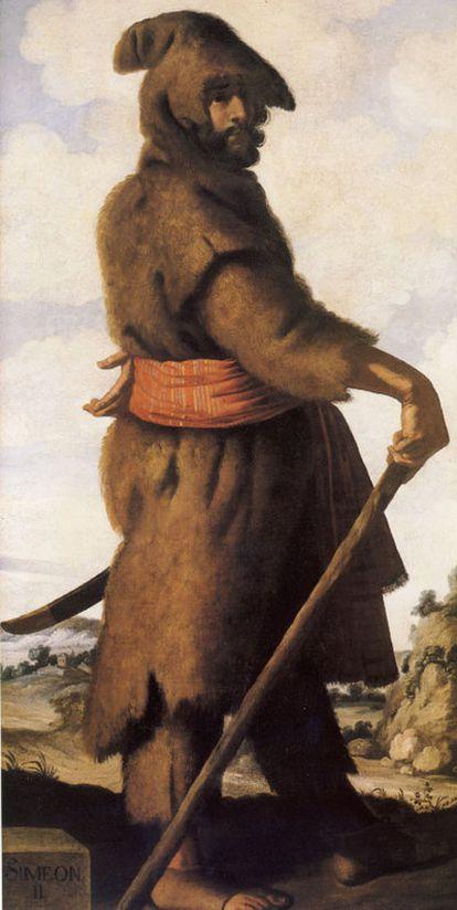 <i>Simeón II</i>, de Zurbarán.