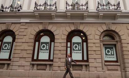 Oficinas de Qi Finance, en Jersey, en el canal de la Mancha.