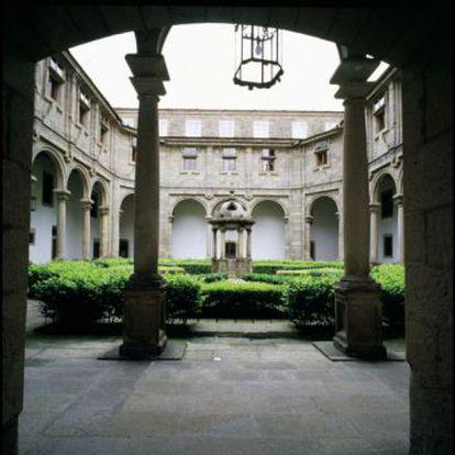 Claustro del parador de Santiago de Compostela