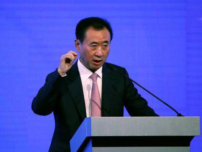 El magnate chino Wang Jianlin, presidente del grupo Wanda.