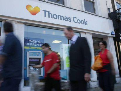 Oficina de Thomas Cook en Londres.